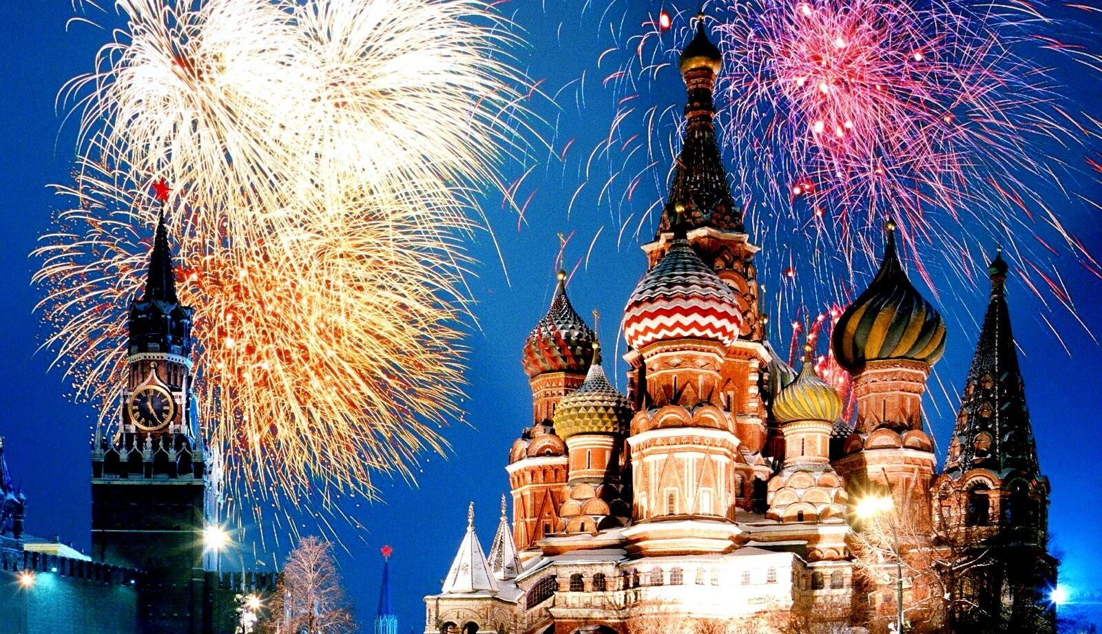 Своими, новый год россия картинки